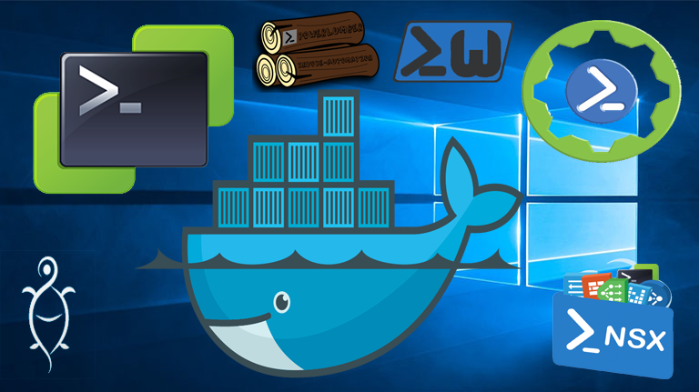 PowerTools – Windows/VMware Powershell Module Docker Image