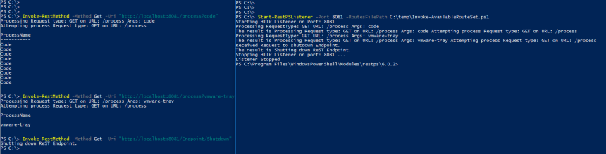 Creating PowerShell RESTFul EndPoints – Invoke-Automation