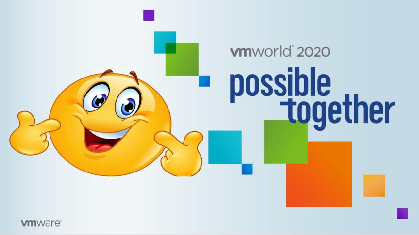 VMworld – Makes MeSmile